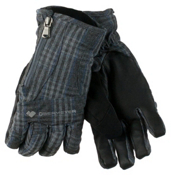 Obermeyer Alpine Womens Gloves, Plaid Heather, medium