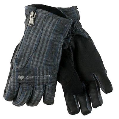 Obermeyer Alpine Womens Gloves, Light Heather Grey, viewer