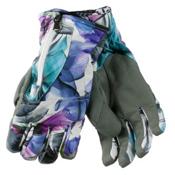 Obermeyer Alpine Womens Gloves, X Ray Floral, medium
