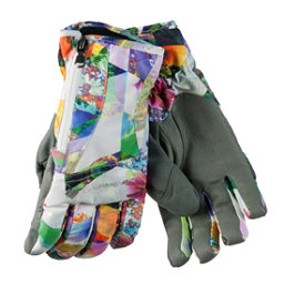Obermeyer Alpine Womens Gloves, Chevron Floral, 256