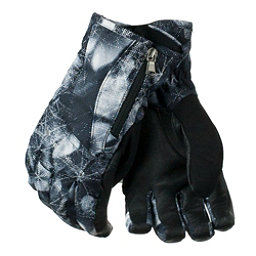 Obermeyer Alpine Womens Gloves, Blackout Floral, 256