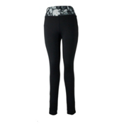 Obermeyer Anni Sport 75wt Womens Long Underwear Pants, Black, medium