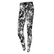 Obermeyer Anni Sport 75wt Womens Long Underwear Pants, Blackout Floral, medium