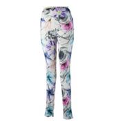 Obermeyer Anni Sport 75wt Womens Long Underwear Pants, X Ray Floral, medium