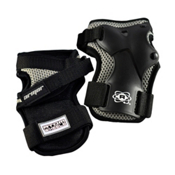 Atom Skates Elite Wrist Guards 2016, Black, medium