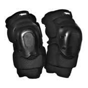 Atom Skates Elite Knee Pads 2016, Black, medium