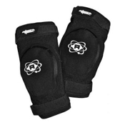 Atom Skates Elite Elbow Pads, Black, medium