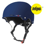 Triple 8 Gotham MIPS Mens Skate Helmet 2016, Blue Matte, medium