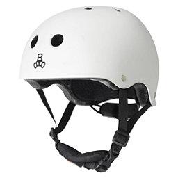 Triple 8 Lil 8 Kids Skate Helmet 2017, White Glossy, 256