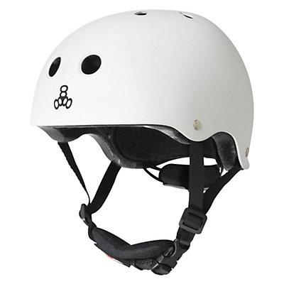 Triple 8 Lil 8 Kids Skate Helmet 2016, Black Rubber, viewer