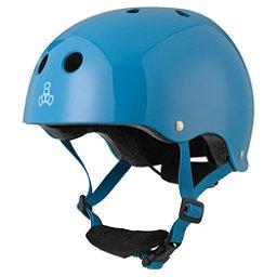 Triple 8 Lil 8 Kids Skate Helmet 2017, Blue Glossy, 256