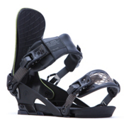 Ride El Hefe Snowboard Bindings 2017, Black, medium