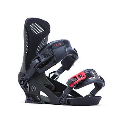 Ride Capo Snowboard Bindings, Black, viewer