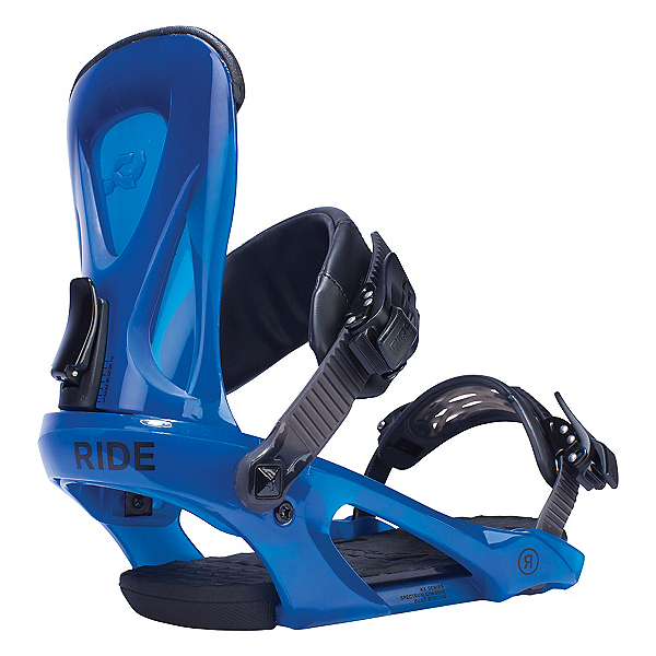Ride KX Snowboard Bindings, Blue, 600