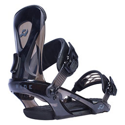 Ride KX Snowboard Bindings, Black, 256