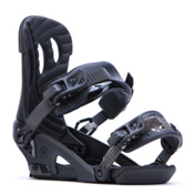 Ride Fame Womens Snowboard Bindings 2017, Black, medium