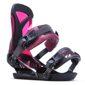 Ride DVA Womens Snowboard Bindings 2017, Bordeaux, medium