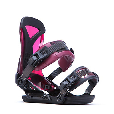 Ride DVA Womens Snowboard Bindings, Bordeaux, viewer