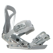Ride DVA Womens Snowboard Bindings 2017, Silver, medium