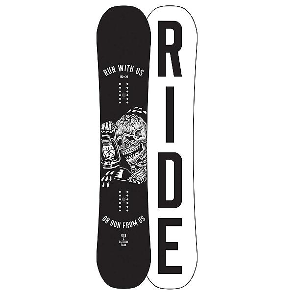 Ride Burnout Snowboard, 152cm, 600