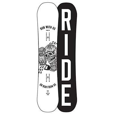 Ride Burnout Wide Snowboard 2017, 154cm Wide, viewer