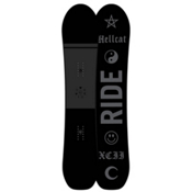 Ride Hellcat Womens Snowboard 2017, 147cm, medium