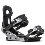 Ride Phenom Kids Snowboard Bindings 2017, Black, medium