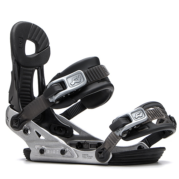 Ride Phenom Kids Snowboard Bindings, Black, 600