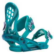 Ride KS Womens Snowboard Bindings 2017, Emerald, medium