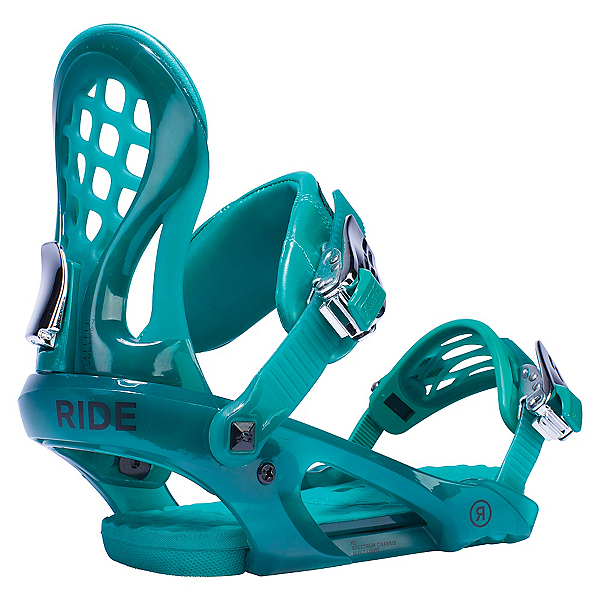 Ride KS Womens Snowboard Bindings 2017, Emerald, 600