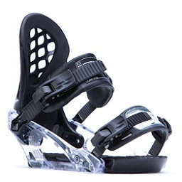 Ride KS Womens Snowboard Bindings 2017, Black, 256
