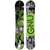 Gnu Carbon Credit BTX Snowboard 2017, Green, medium