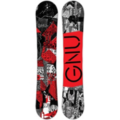 Gnu Carbon Credit BTX Snowboard 2017, Red, medium