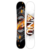 Gnu Carbon Credit Asym BTX Snowboard 2017, 150cm, medium