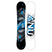 Gnu Carbon Credit Asym BTX Wide Snowboard 2017, Blue, medium