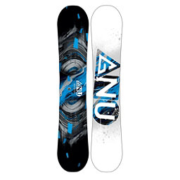 Gnu Carbon Credit Asym BTX Wide Snowboard 2017, Blue, 256