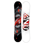 Gnu Carbon Credit Asym BTX Wide Snowboard 2017, Red, medium