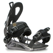 Gnu Gateway Snowboard Bindings 2017, Gray, medium