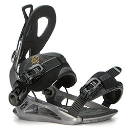 Gnu Gateway Snowboard Bindings 2017, Gray, 256