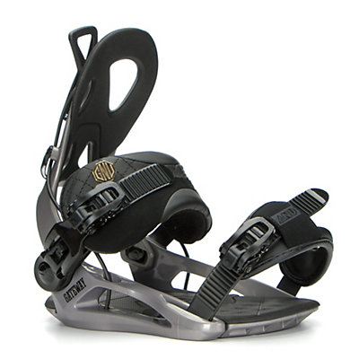 Gnu Gateway Snowboard Bindings, Gray, viewer