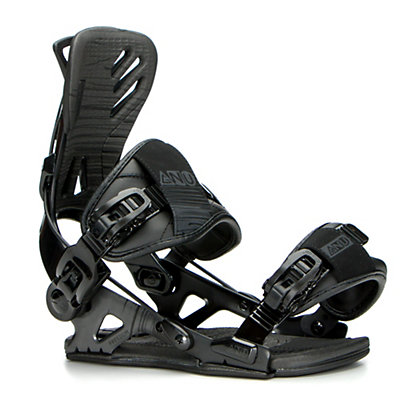 Gnu Freedom Snowboard Bindings 2017, Black, viewer