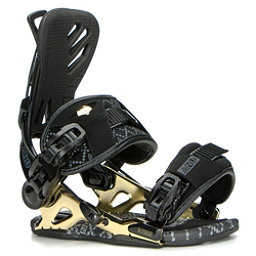 Gnu B-Free Womens Snowboard Bindings 2017, Black, 256