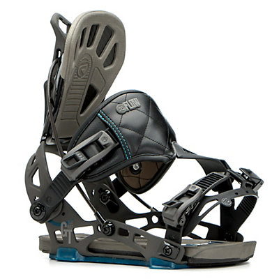 Flow NX2-GT Hybrid Snowboard Bindings 2017, Black, viewer