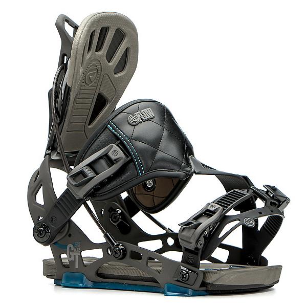 Flow NX2-GT Hybrid Snowboard Bindings, Black, 600