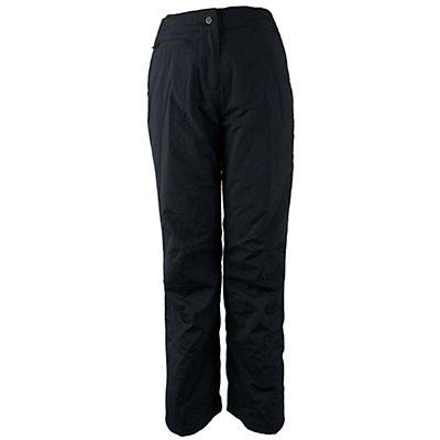 Obermeyer Sugarbush Stretch Short Womens Ski Pants, Black, viewer