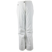 Obermeyer Sugarbush Stretch Long Womens Ski Pants, White, medium