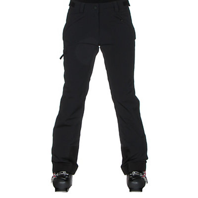 Obermeyer Alpinista Stretch Short Womens Ski Pants, Black, viewer
