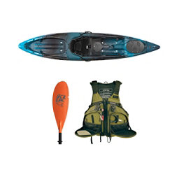 Wilderness Systems Tarpon 120 Midnight Kayak Fishing Package 2016, , 256