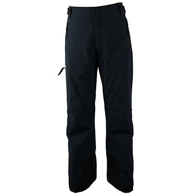 Obermeyer Alpinist Stretch Mens Ski Pants, Black, viewer