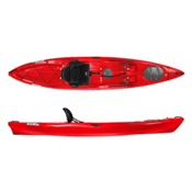 Wilderness Systems Ride 135 Fishing Kayak, Red, medium